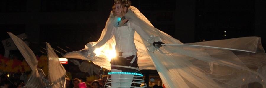 The Luminous Angel  Walkact
